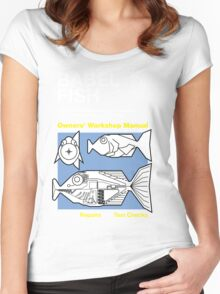 Owners' Manual - Bable Fish - T-shirt Women's Fitted Scoop T-Shirt