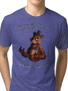 The Toreadore Teddy (english) Tri-blend T-Shirt