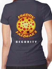Official Employee of Freddy Fazbear's Pizzeria Women's Fitted V-Neck T-Shirt