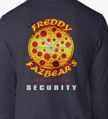 Official Employee of Freddy Fazbear's Pizzeria Long Sleeve T-Shirt