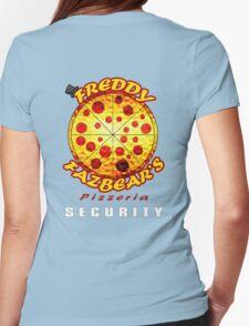 Official Employee of Freddy Fazbear's Pizzeria Womens Fitted T-Shirt