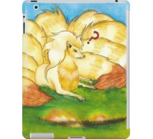 To Tame A Ninetails iPad Case/Skin
