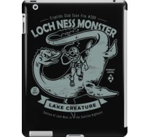 Lochness Monster - Cryptids Club Case file #200 iPad Case/Skin