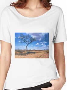Tree in the Serengeti Women's Relaxed Fit T-Shirt