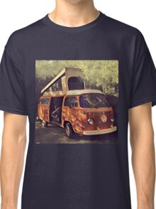Orange Vintage VW Westfalia Camping Classic T-Shirt