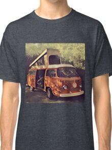 Orange Vintage VW Westfalia Camping Classic T-Shirt