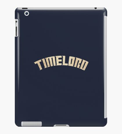 Doctor Who Timelord iPad Case/Skin