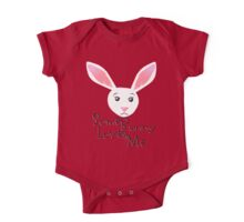 Some Bunny Loves Me One Piece - Short Sleeve