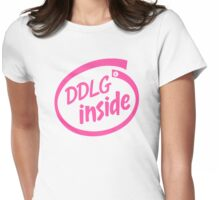 DDlg inside Womens Fitted T-Shirt