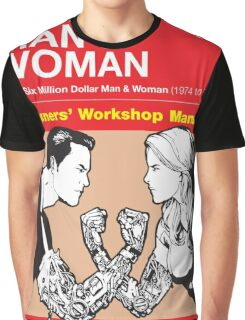 Owners' Manual - Bionic Man & Woman - Poster & stickers Graphic T-Shirt
