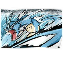 Gyarados | Aqua Tail Poster