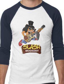 Slash Bandicoot Men's Baseball ¾ T-Shirt