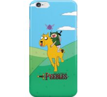 the legend of peebles iPhone Case/Skin