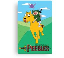 the legend of peebles Canvas Print