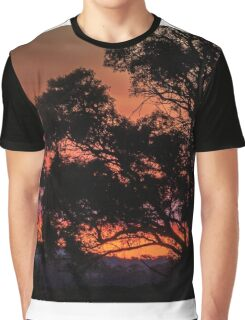 Stirling Range Sunset Graphic T-Shirt