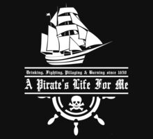 A Pirate's Life For Me by kayve