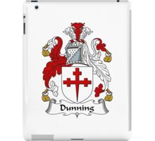 Dunning Coat of Arms / Dunning Family Crest iPad Case/Skin