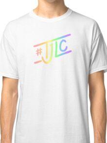 #TJLC text, rainbow Classic T-Shirt