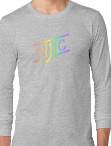#TJLC text, rainbow Long Sleeve T-Shirt