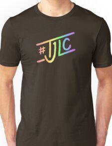 #TJLC text, rainbow Unisex T-Shirt