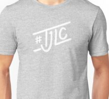 #TJLC text, white Unisex T-Shirt