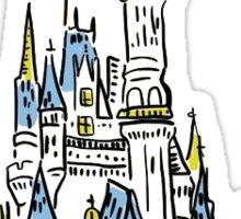 enchanted castle Sticker