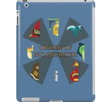 The Order of No Quarter iPad Case/Skin