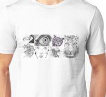 Ink Collage  Unisex T-Shirt