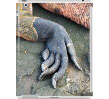 Foot of a marine iguana iPad Case/Skin
