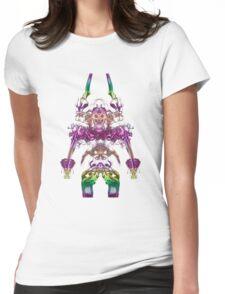 Alien Viking Warrior Womens Fitted T-Shirt