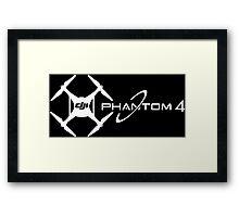 Phantom 4 DJI Drone white Framed Print