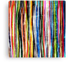 fancy stripes 1 Canvas Print