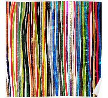 fancy stripes 1 Poster