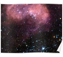 N11 Large Magellanic Cloud Space Poster