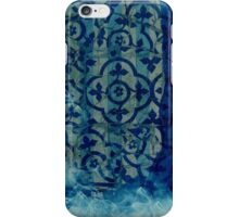 mosaic in cyan iPhone Case/Skin