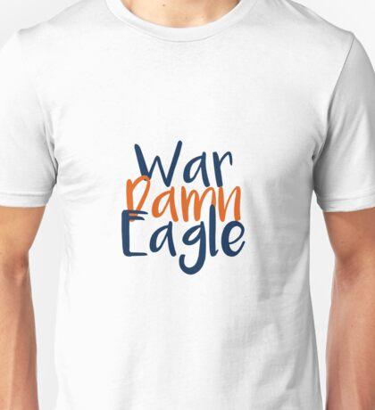 War Damn Eagle Unisex T-Shirt