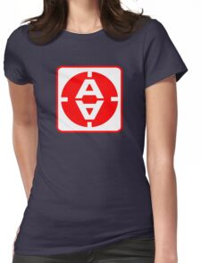 Space 1999 Moonbase door sign Womens Fitted T-Shirt