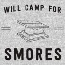 Will camp for smores by bravos