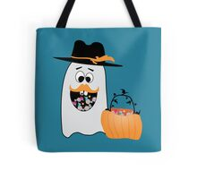 Silly Halloween Ghost Wants Your Candy Tote Bag