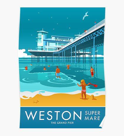 Weston super Mare, Grand Pier Poster