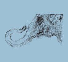 An elephant's faithful 100% by Inkspot Kids Tee