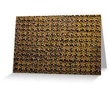 Floral metallic pattern design. Elegant decorative background. Greeting Card