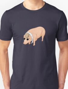 Porco Rosso Back To Home Unisex T-Shirt