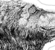 Bear Necessities by Inkspot  Sticker