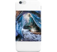 Ice Cave in a Glacier iPhone Case/Skin