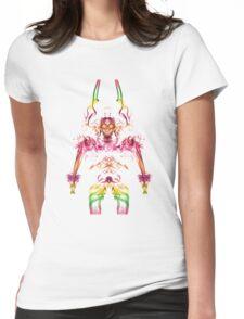 Alien Viking Warrior 3 Womens Fitted T-Shirt