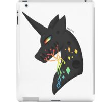 vincent the black unicorn iPad Case/Skin