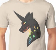 vincent the black unicorn Unisex T-Shirt