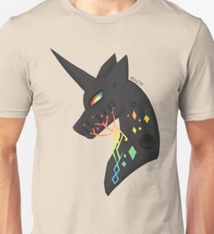vincent the black unicorn Unisex T-Shirt