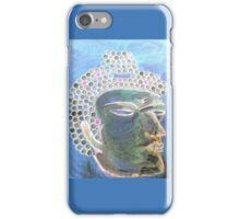 Blue Budha - by Ana Canas iPhone Case/Skin